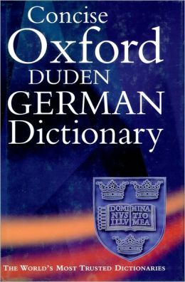 The Concise Oxford-Duden German Dictionary