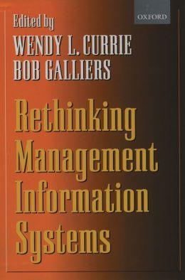 Rethinking Management Information Systems: An Interdisciplinary Perspective