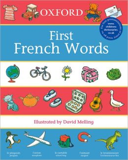 Oxford First French Words Dictionary