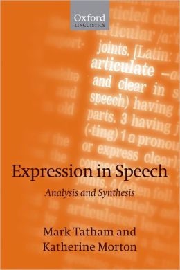 Expression in Speech: Analysis and Synthesis