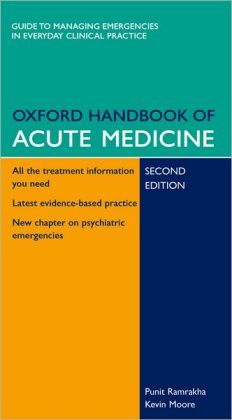 Oxford Handbook of Acute Medicine: Book and PDA Pack