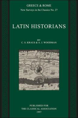 Latin Historians: Greece and Rome