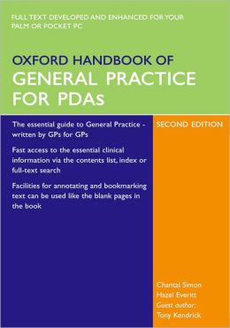 Oxford Handbook of General Practice for PDAs