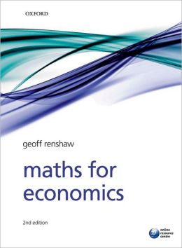 Maths for Economics