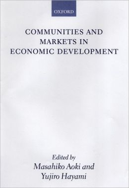 Communities and Markets in Economic Development