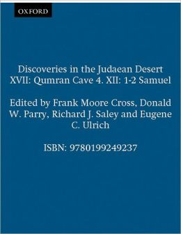 Qumran Cave 4 - XII, 1-2 Samuel (Discoveries in the Judaean Desert Series, XVII)