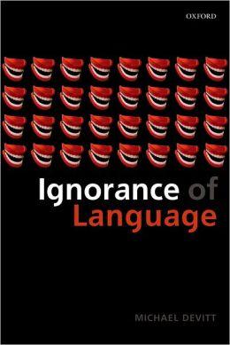 Ignorance of Language