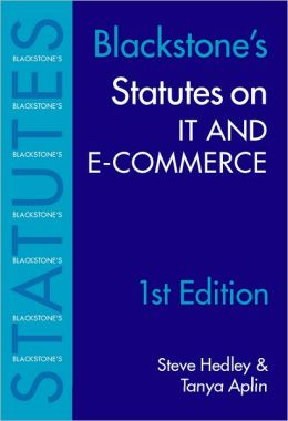 Statutes on IT and e-Commerce