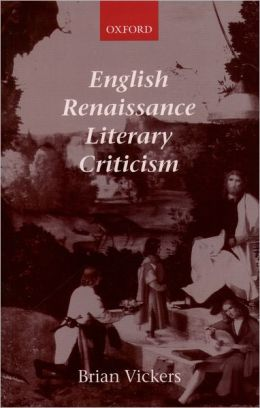 English Renaissance Literary Criticism