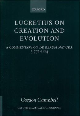 Lucretius on Creation and Evolution