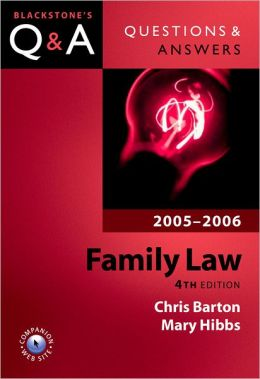 Questions & Answers Family Law 2005-2006