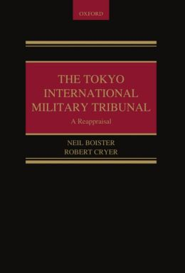 The Tokyo International Military Tribunal