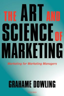 Art and Science of Marketing: Marketing for Marketing Managers