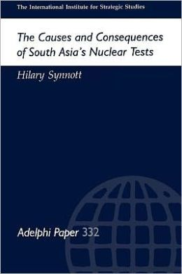 Causes and Consequences of South Asia's Nuclear Tests