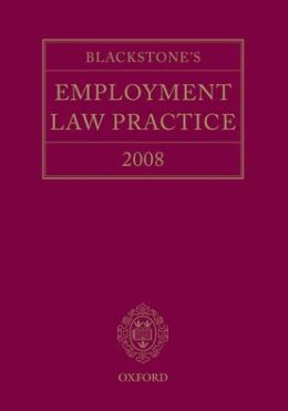 Blackstone's Employment Law Practice 2008