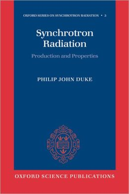 Synchrotron Radiation: Production and Properties