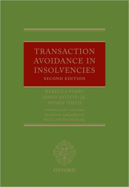 Transaction Avoidance in Insolvencies