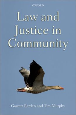 Law and Justice in Community