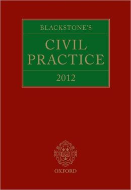 Blackstone's Civil Practice 2012