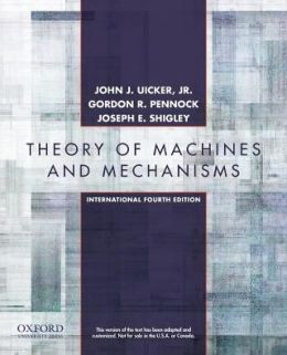 Theory Ofmachines and Mechanisms