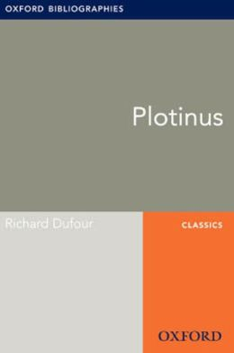 Plotinus: Oxford Bibliographies Online Research Guide