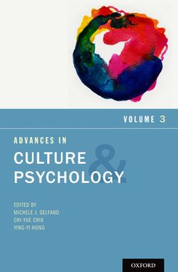 Advances in Culture and Psychology: Volume 3