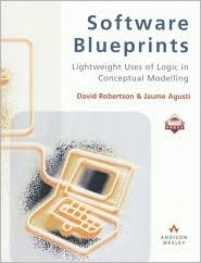 Software Blueprints: Lightweight Uses of Logic in Conceptual Modelling