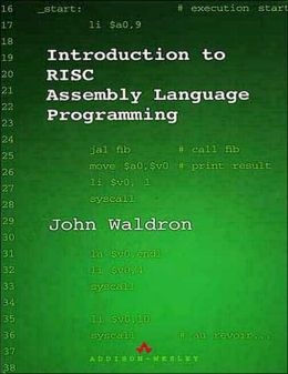 Introduction to RISC Assembly Language