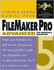 FileMaker Pro 5 Advanced for Windows and Macintosh: Visual QuickPro Guide