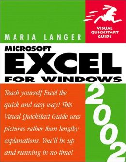 Excel 2002 for Windows: Visual QuickStart Guide