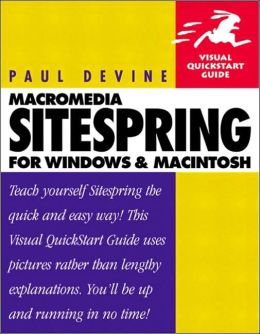 Macromedia Sitespring for Windows and Macintosh : Visual QuickStart Guide
