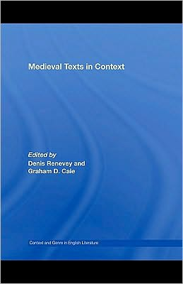 Medieval Texts in Context