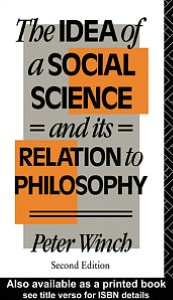 The Idea of a Social Science
