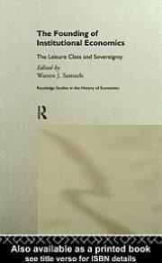 Founding of Institutional Economics