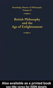 Routledge History of Philosophy Volume 5