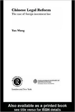 Chinese Legal Reform