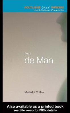 Paul de Man