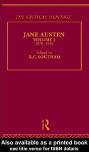 Jane Austen - The Critical Heritage Vol 2