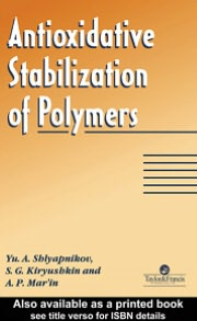 Antioxidative Stabilization Of Polymers