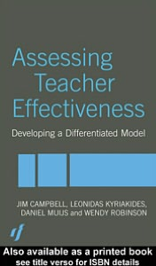Assessing Teacher Effectiveness