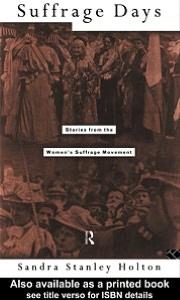 Suffrage Days