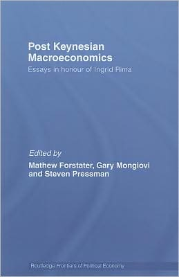 Post-Keynesian Macroeconomics Economics