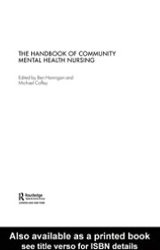 The Handbook of Community Mental Health Nursing