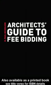 Architects' Guide to Fee Bidding