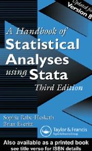 A Handbook Of Statistical Analyses Using Stata Third Edition