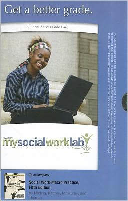 MySocialWorkLab -- Standalone Access Card -- for Social Work Macro Practice