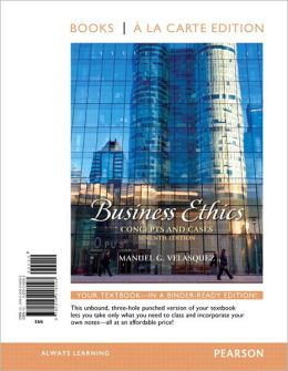 business ethics concepts and cases Business ethics: pearson new international edition: concepts and cases ebook: manuel g velasquez: amazonin: kindle store.