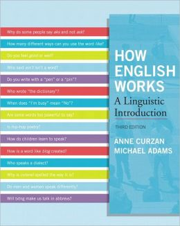 How English Works: A Linguistic Introduction Plus MySearchLab