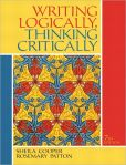 Book Cover Image. Title: Writing Logically, Thinking Critically, Author: Sheila Cooper