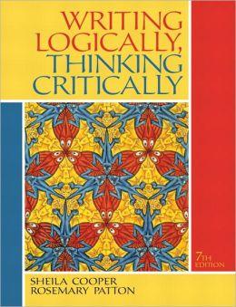 Writing Logically, Thinking Critically